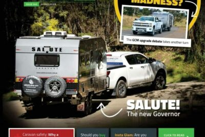 Salute Caravans Governor Review RV Daily