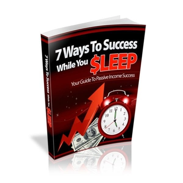 how to make money while you sleep ebook