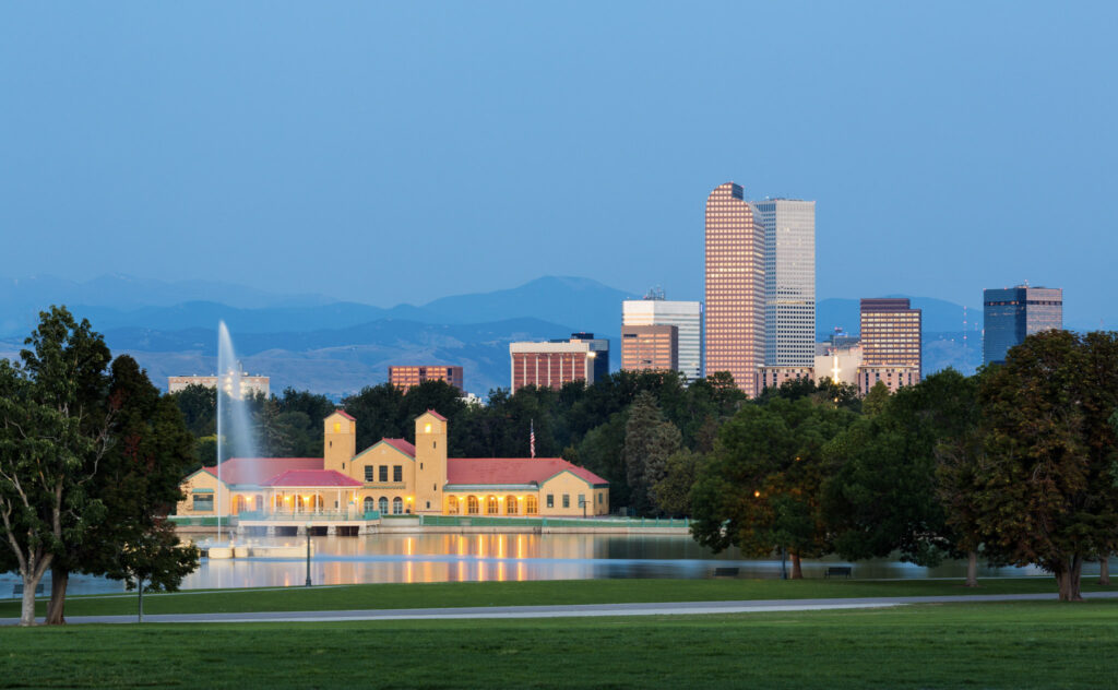 Denver skyline photo