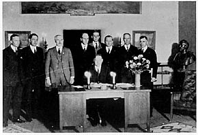 1922 colorado river compact signing photo