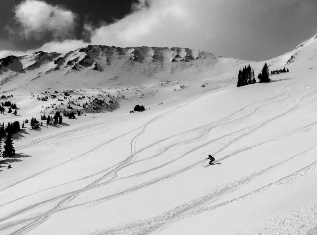 Loveland ski area photo by Mitch Tobin