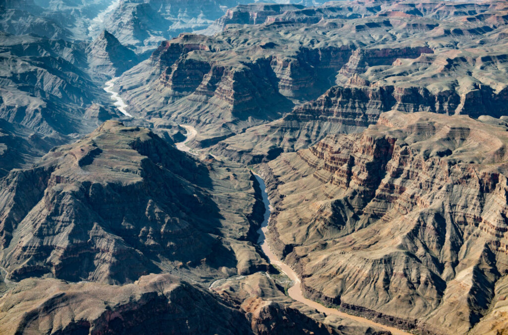 The Colorado River passes through the Hualapai Indian Reservation in northern Arizona, west of Grand Canyon National Park. PHOTO BY TED WOOD