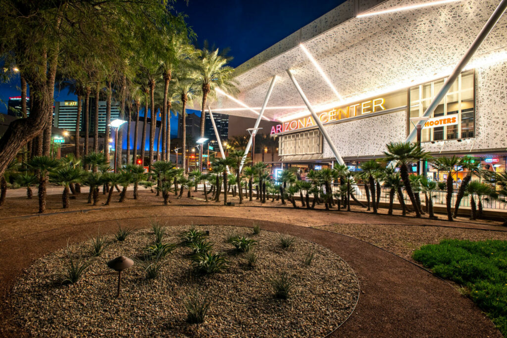 Phoenix officials have urged businesses and government agencies to plant desert landscaping to lower water use. PHOTO BY TED WOOD