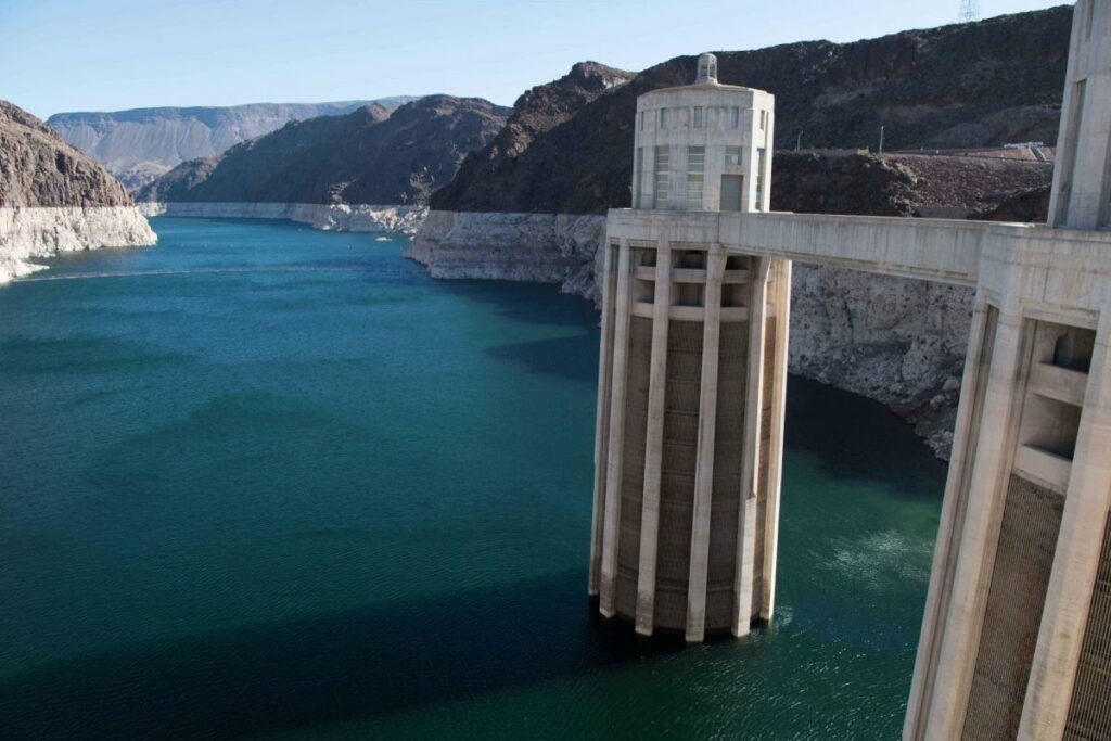 Some Colorado River water users in 2020 will begin taking voluntary reductions to protect the water elevation level at Lake Mead. Source: Bureau of Reclamation