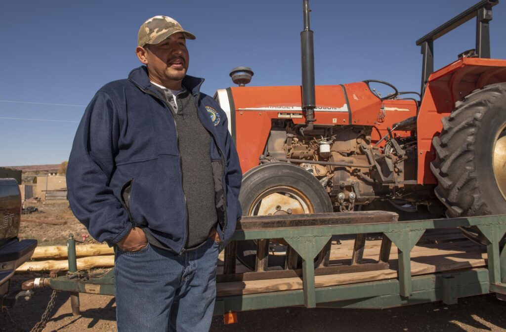 Daniel Bowannie directs the Zuni Sustainable Agriculture Program.