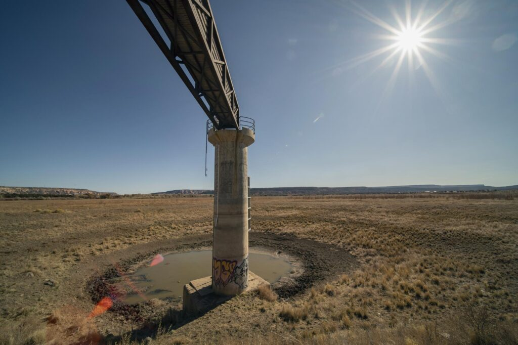 The reservoir of the multimillion-dollar Black Rock Dam has not held water in decades.
