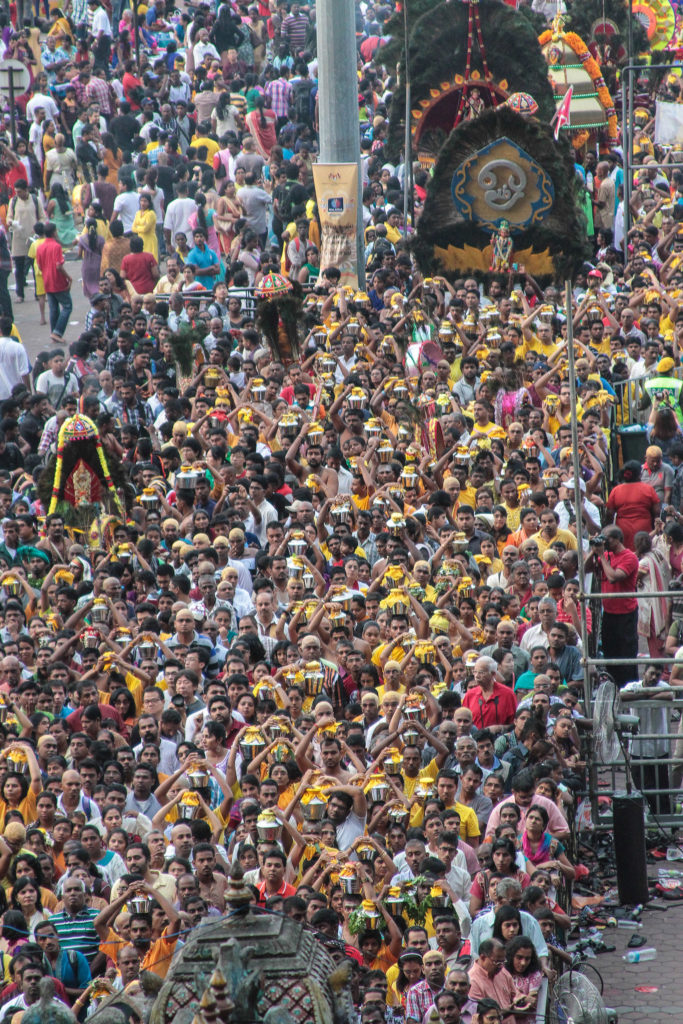 Thaipusam 2014 at the Batu Caves