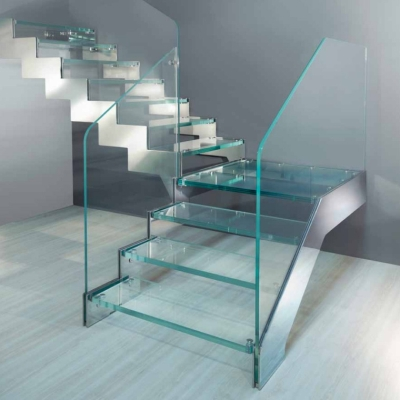 A-8 Impact glass with shoe and impact glass steps