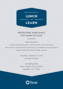 Lunch & Learn - Protecting Your Family @ Including Kids Autism Center