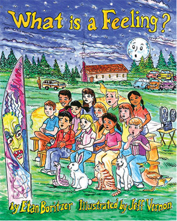 cover for what is a feeling explains to children how to best express your feelings