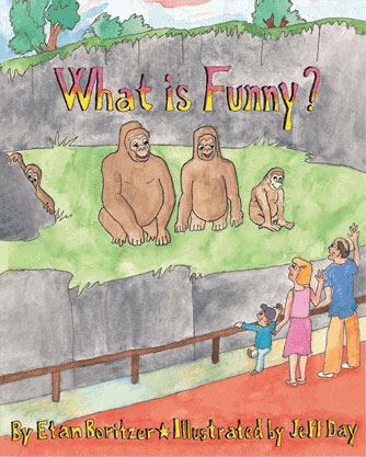 cover for what is funny children's book-helps develop your child's  sense of humor