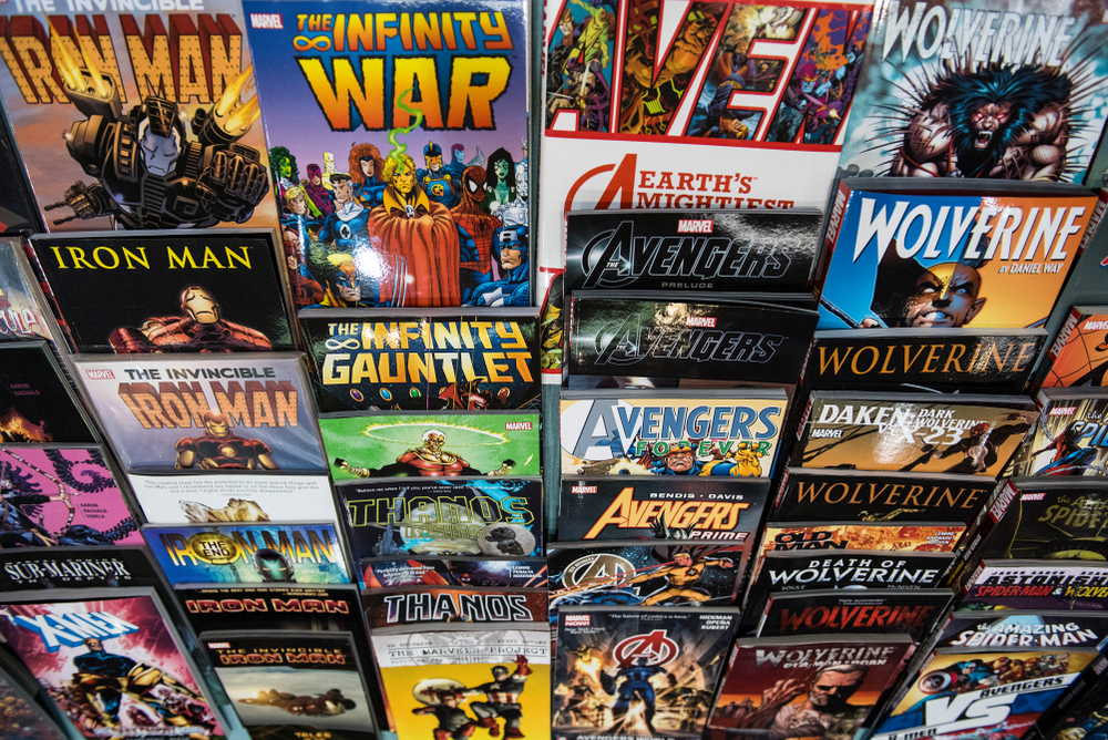popular graphic novels