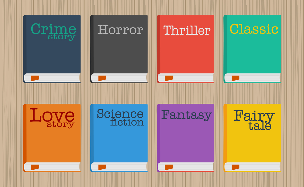 DIFFERENT CATEGORIES OF BOOKS
