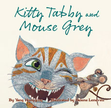 Kitty Tabby and Mouse Grey