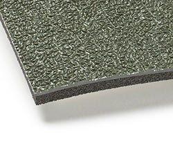383 Military Green Acoustical Floormats