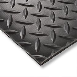 Diamond Plate Acoustical Floormats