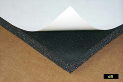 Sound Absorption Plus Foam Damping Sheet
