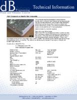 High Temperature Needle Mat Composite