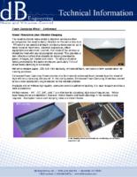 Foam Damping Sheet