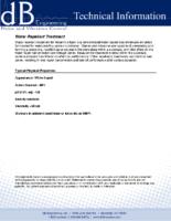 Water Repellant Treatment