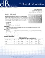 Sanitary Wall Panel