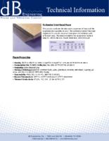 Perforated Vinyl Faced Foam