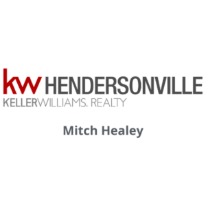 Keller Williams Realty Hendersonville logo with Mitch Healey's name underneath