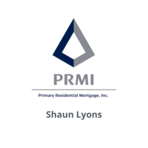 Primary Residential Mortgage Inc logo with Shaun Lyons name below
