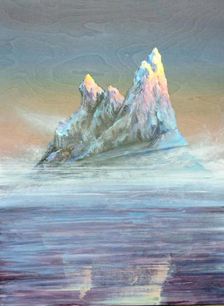 Candy Colored Iceberg