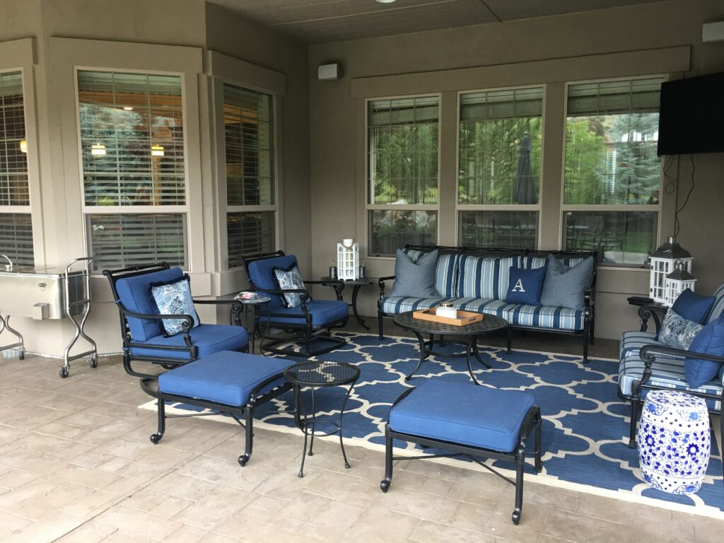 patio furniture by latshaws upholstery