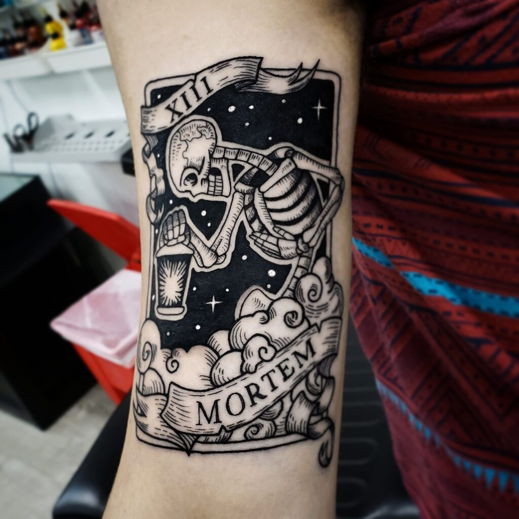 sam-fernandez-tattoo-mortem-skeleton