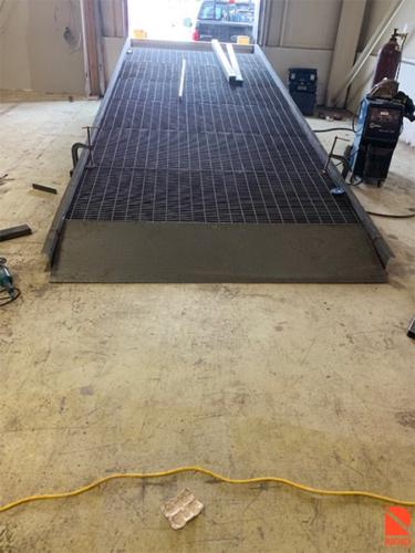 Custom Steel Loading Dock Ramp