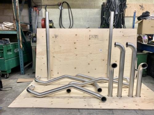 Stainless Steel Pipe Spools