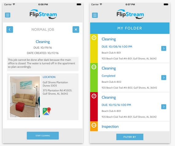flipstream app itrip vacations management