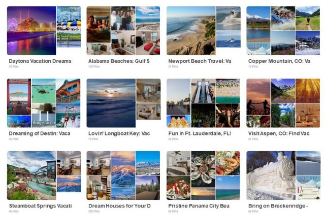 pinterest marketing vacation rental pros
