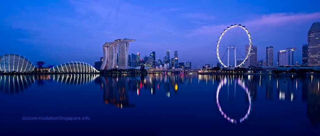Marina Bay Singapore Night