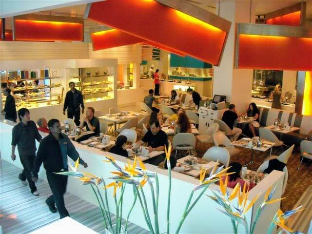 Line Shangri La hotel restaurant Singapore