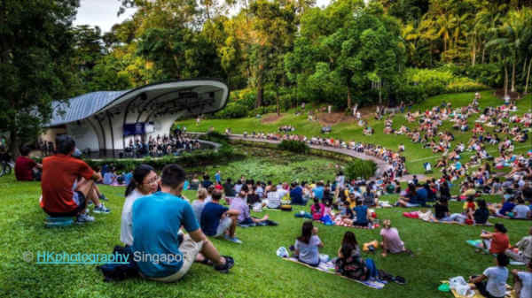 Outdoor concert Sngapore