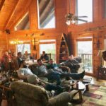Group session on recovery retreat Nashville TN