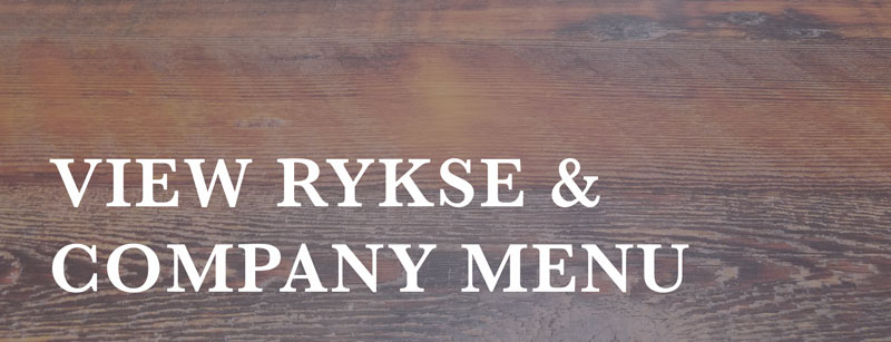 view rykse & company menu