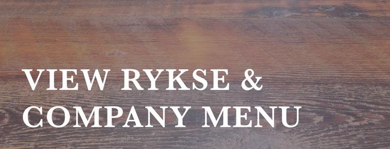 view rykse & company menu