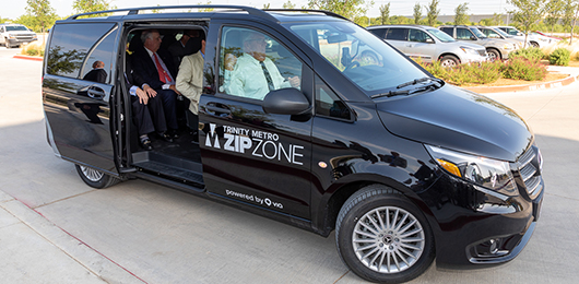 On-demand ZIPZONE arriving in Crowley on June 1