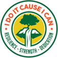 I Do It Cause I Can | Resilience – Strength – Dedication Logo