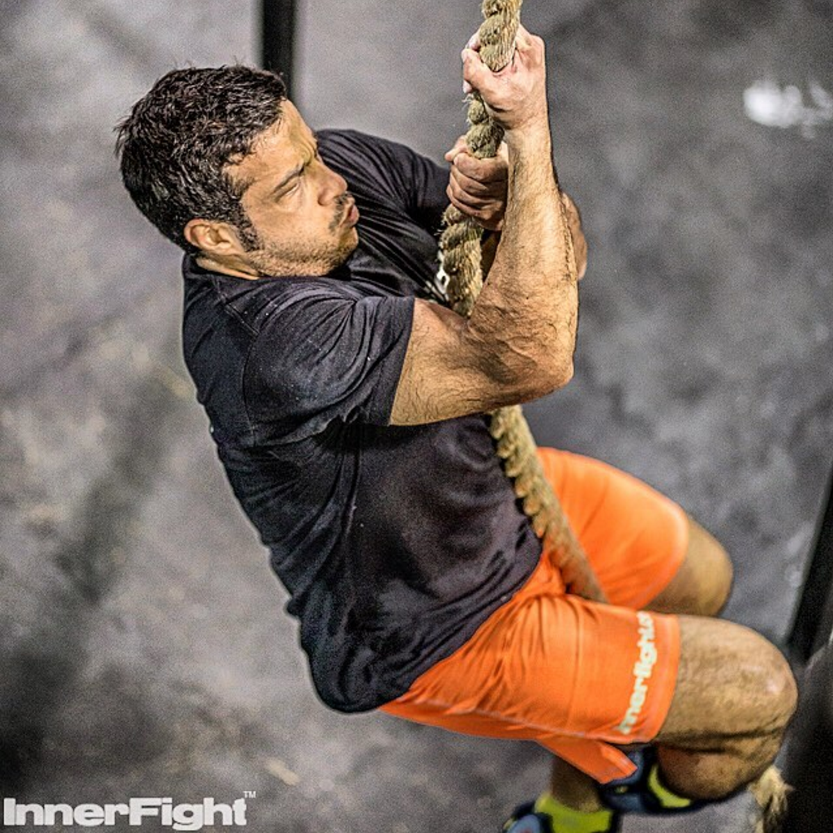 Kasim on the rope