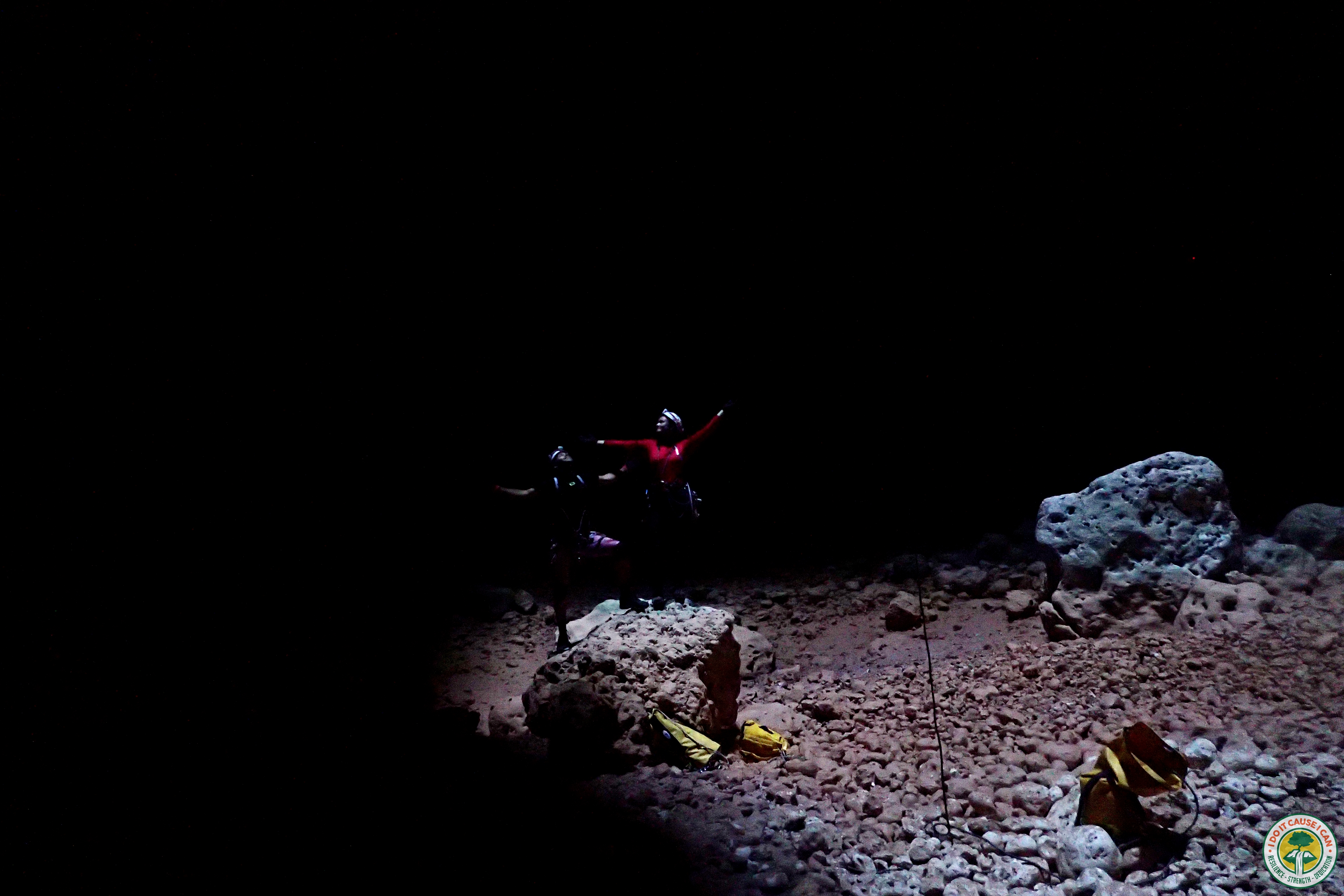 Joanna Slomiak & Toufic Abou Nader Arch cave oman