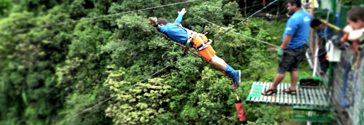 Toufic Abou Nader bungee jumping