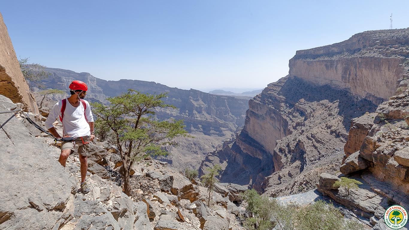 Jabal Shams Via Ferrata