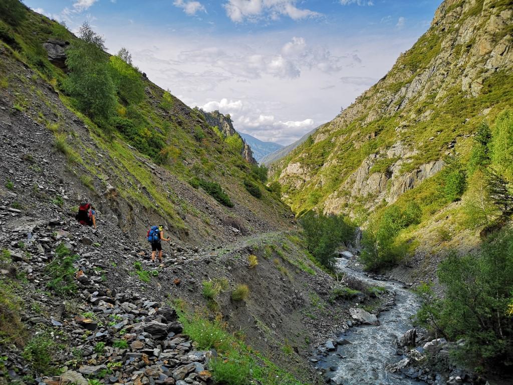 Omalo to Shatili trekking in Georgia Toufic Abou Nader