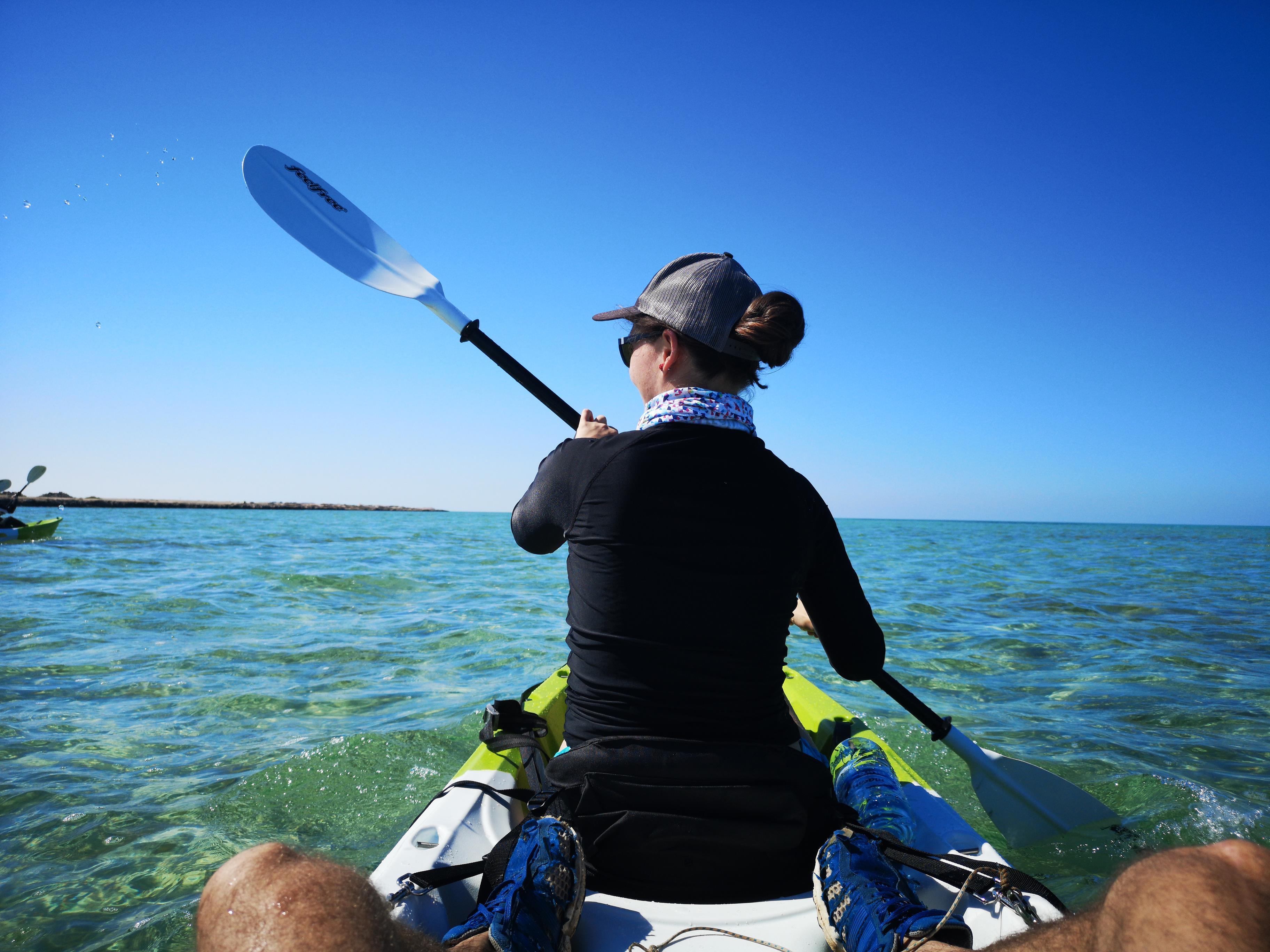 Kayaking in Abu Dhabi