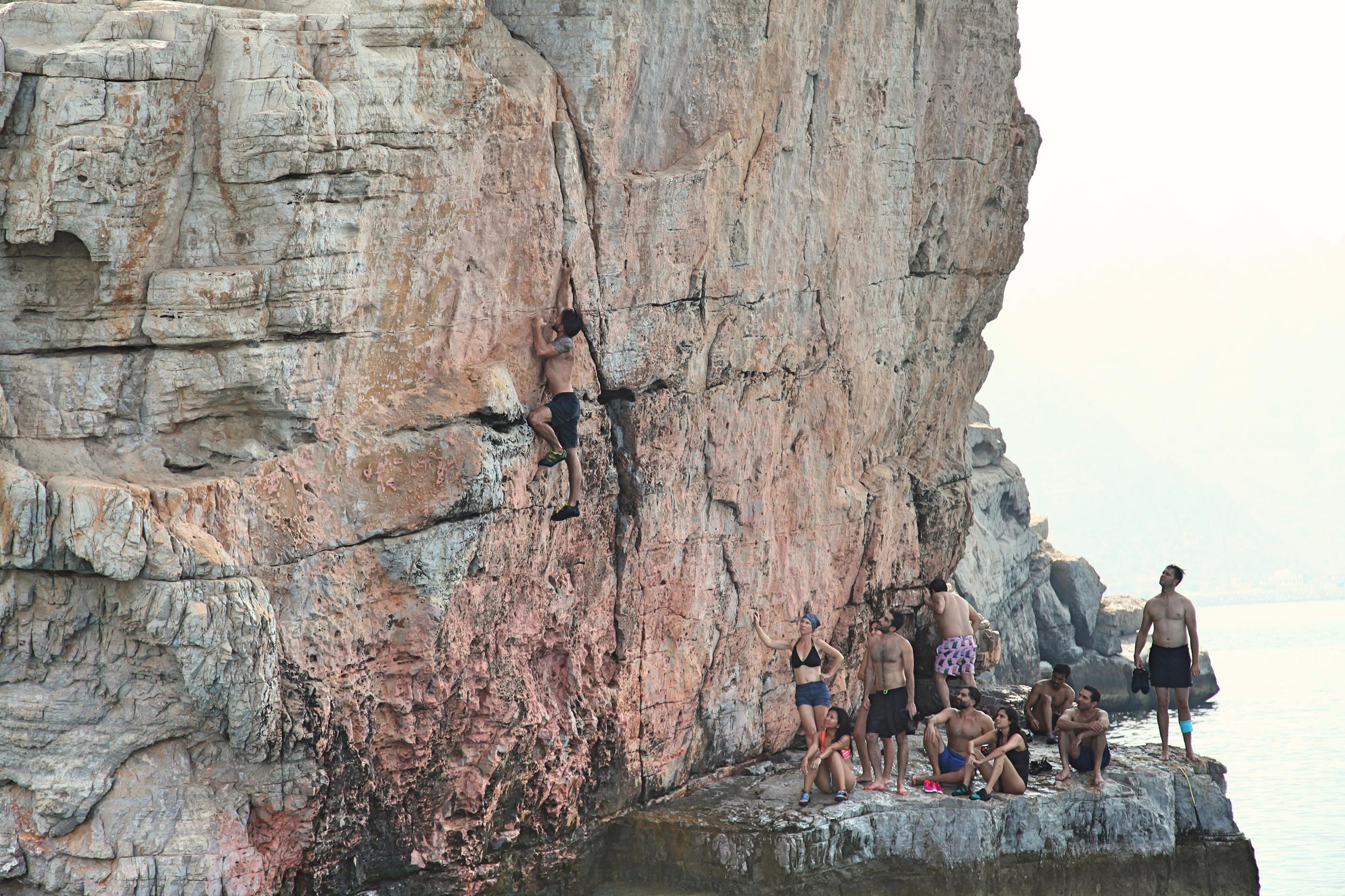 Dibba Musandam DWS Climbing